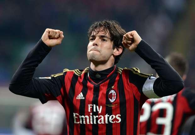 Kaká la rompió y Milan sumó un par de triunfos