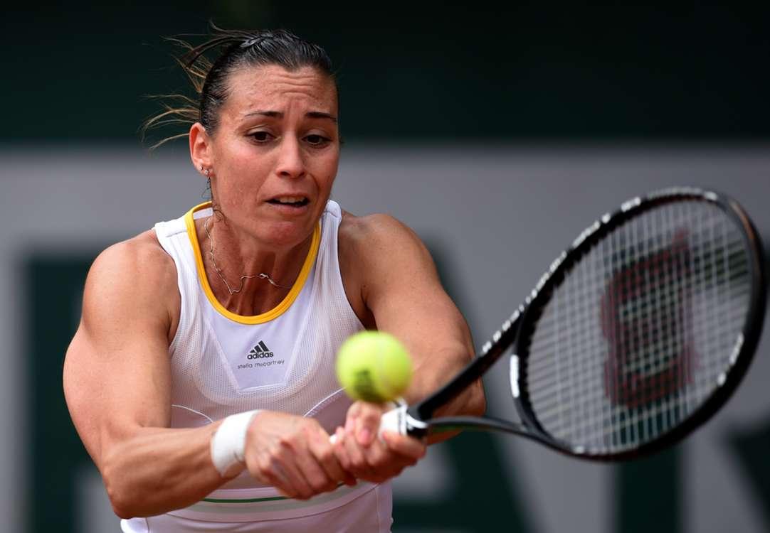 Pennetta withdraws, Pliskova progresses in Austria