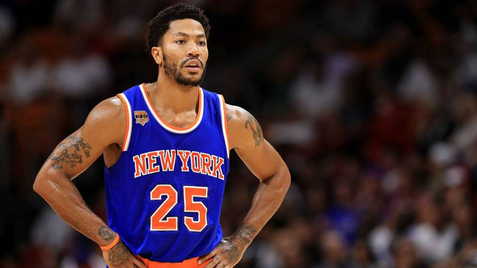 Did Knicks take a shot at Derrick Rose with now-deleted tweet   b96507d1b