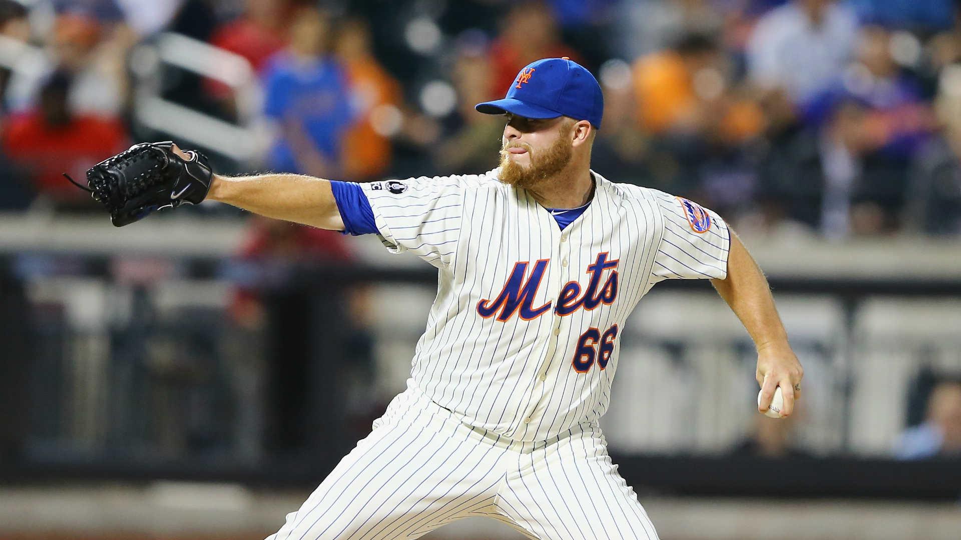 Mets left-hander Josh Edgin