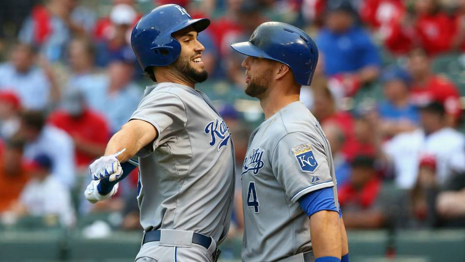 Eric Hosmer and Alex Gordon