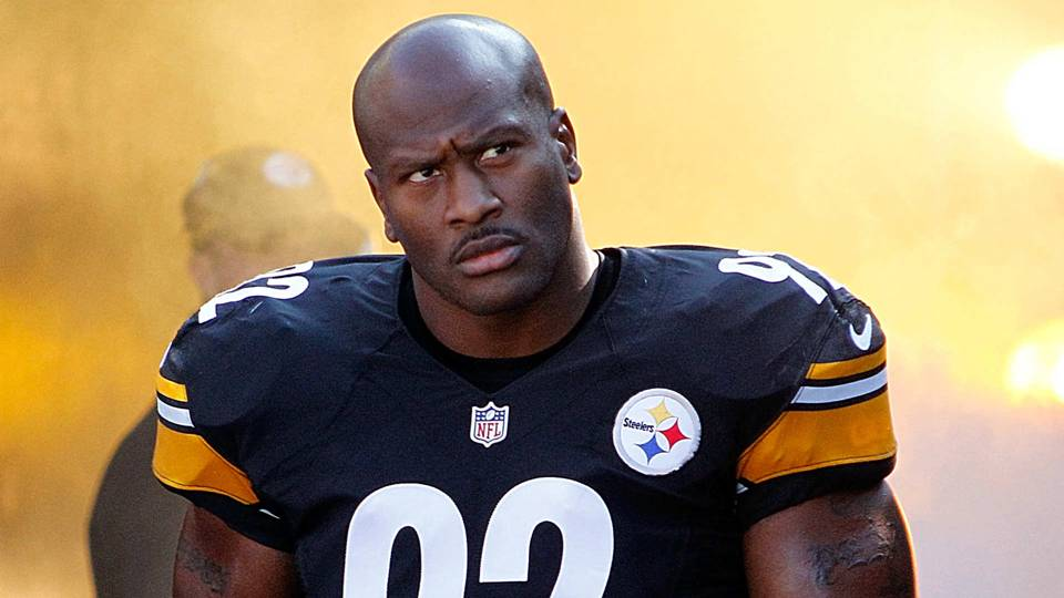 9f4a38ce28a Steelers cut veteran LB James Harrison