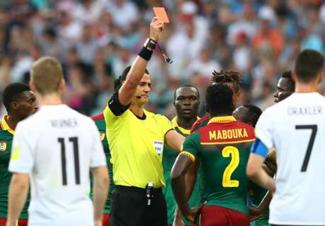 Cameroon VAR red causes chaos