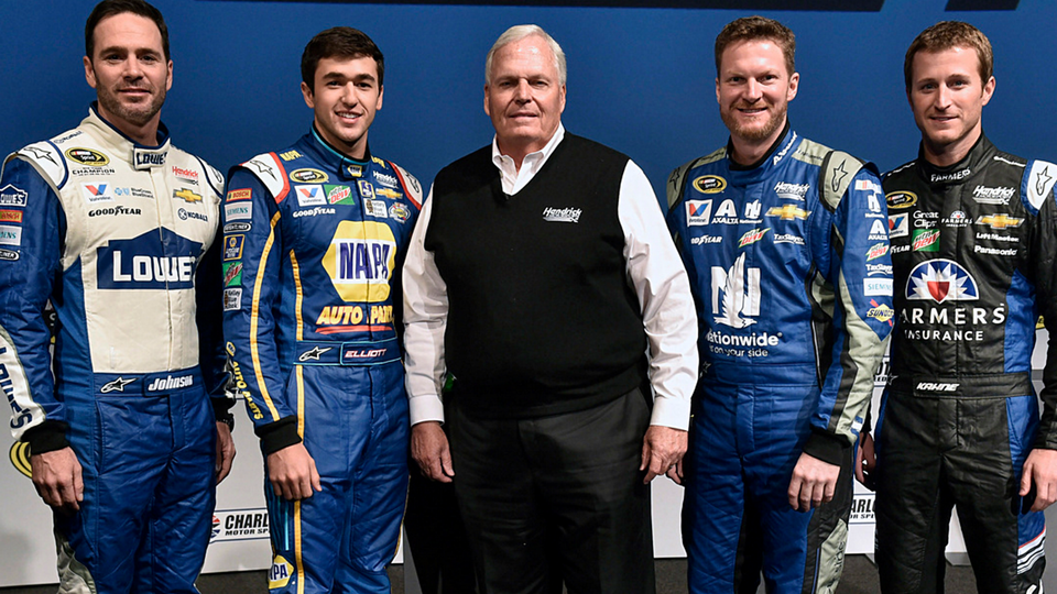 Hendrick Motorsports Sprint Cup team for 2016