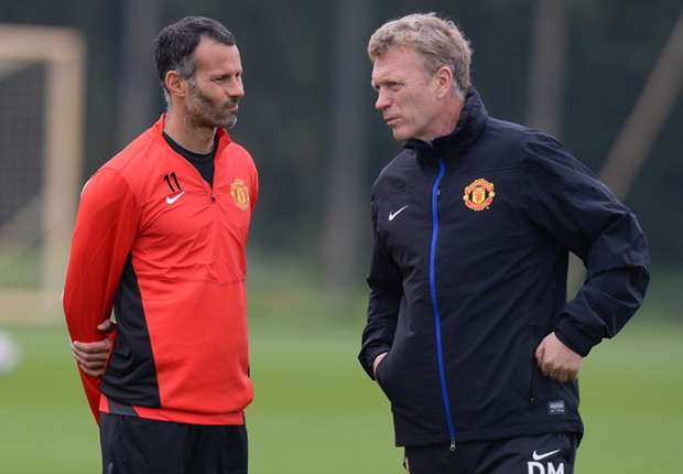 There's not much difference between Moyes and Sir Alex, says Giggs