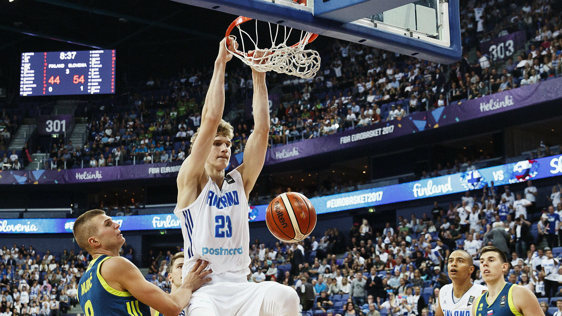 Lauri Markkanen injured in EuroBasket, will play in next game