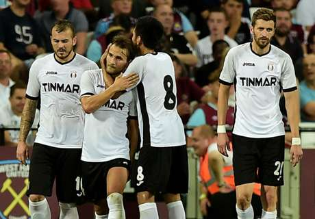 West Ham dumped out of Europe