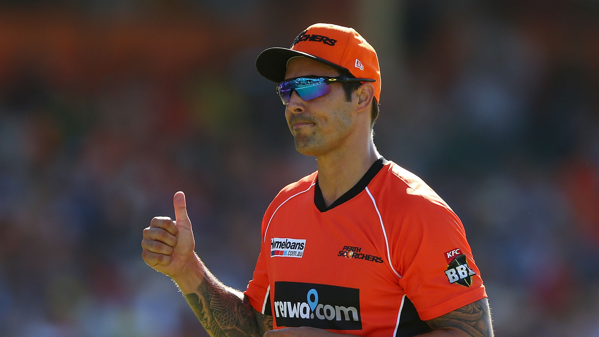 Mitchell Johnson rules out global return
