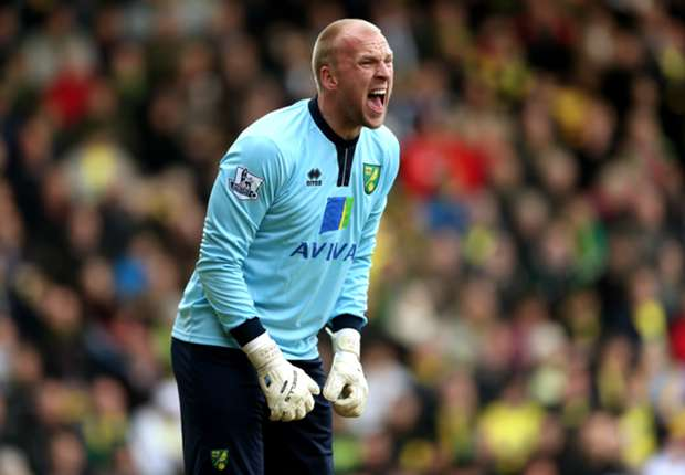 Hughton backs Norwich keeper Ruddy for World Cup