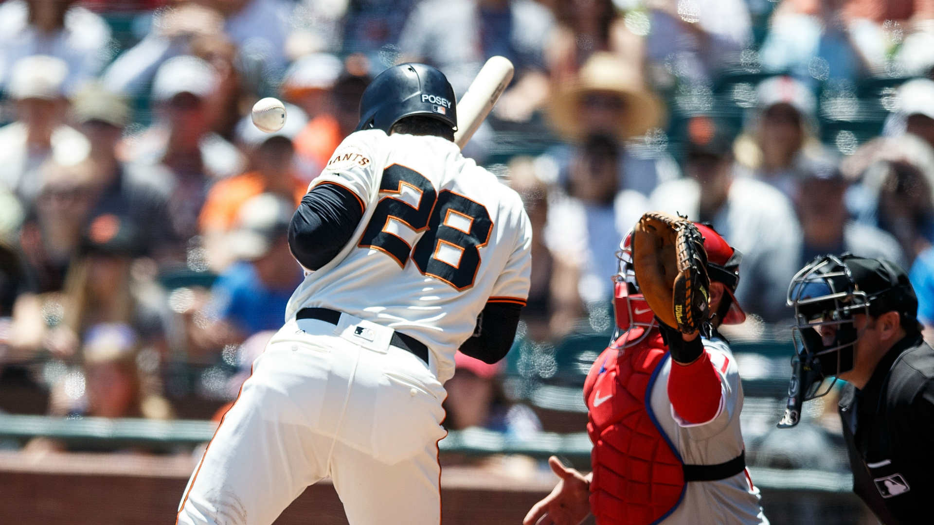 Bochy calls Phillies' Neris 'an idiot' over Posey HBP
