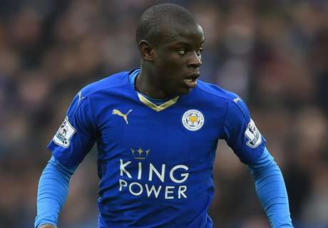 Kante set for stand honour