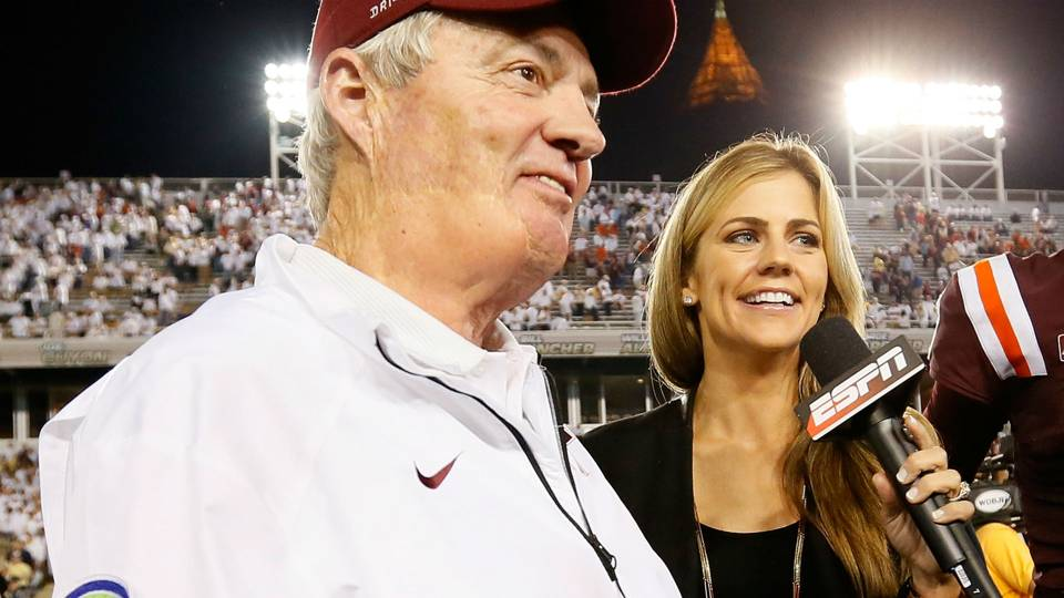 Espns Samantha Ponder Explains Why Shes Leaving Sideline Ncaa