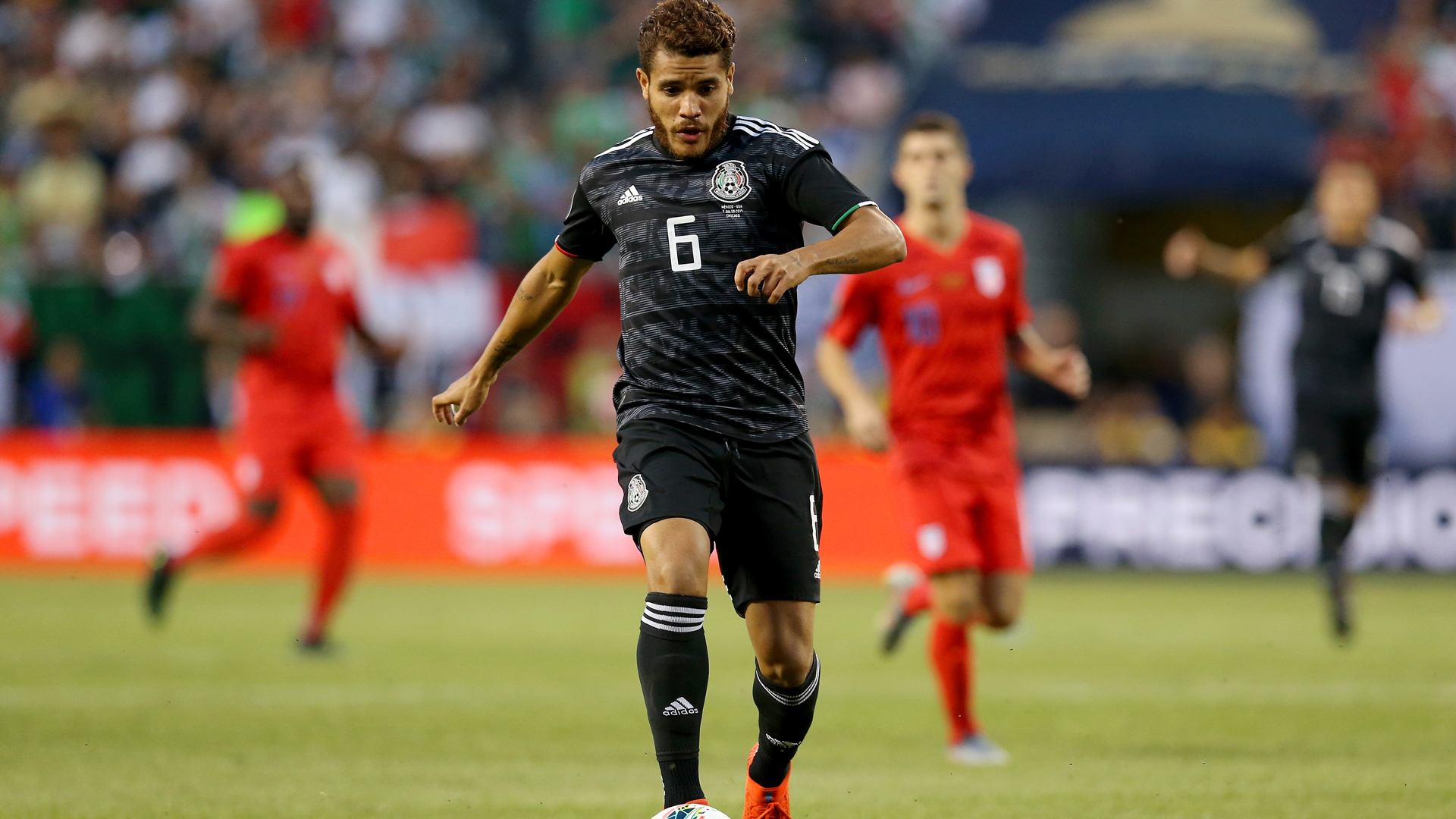 Mexico 1 United States 0: Dos Santos goal secures Gold Cup title