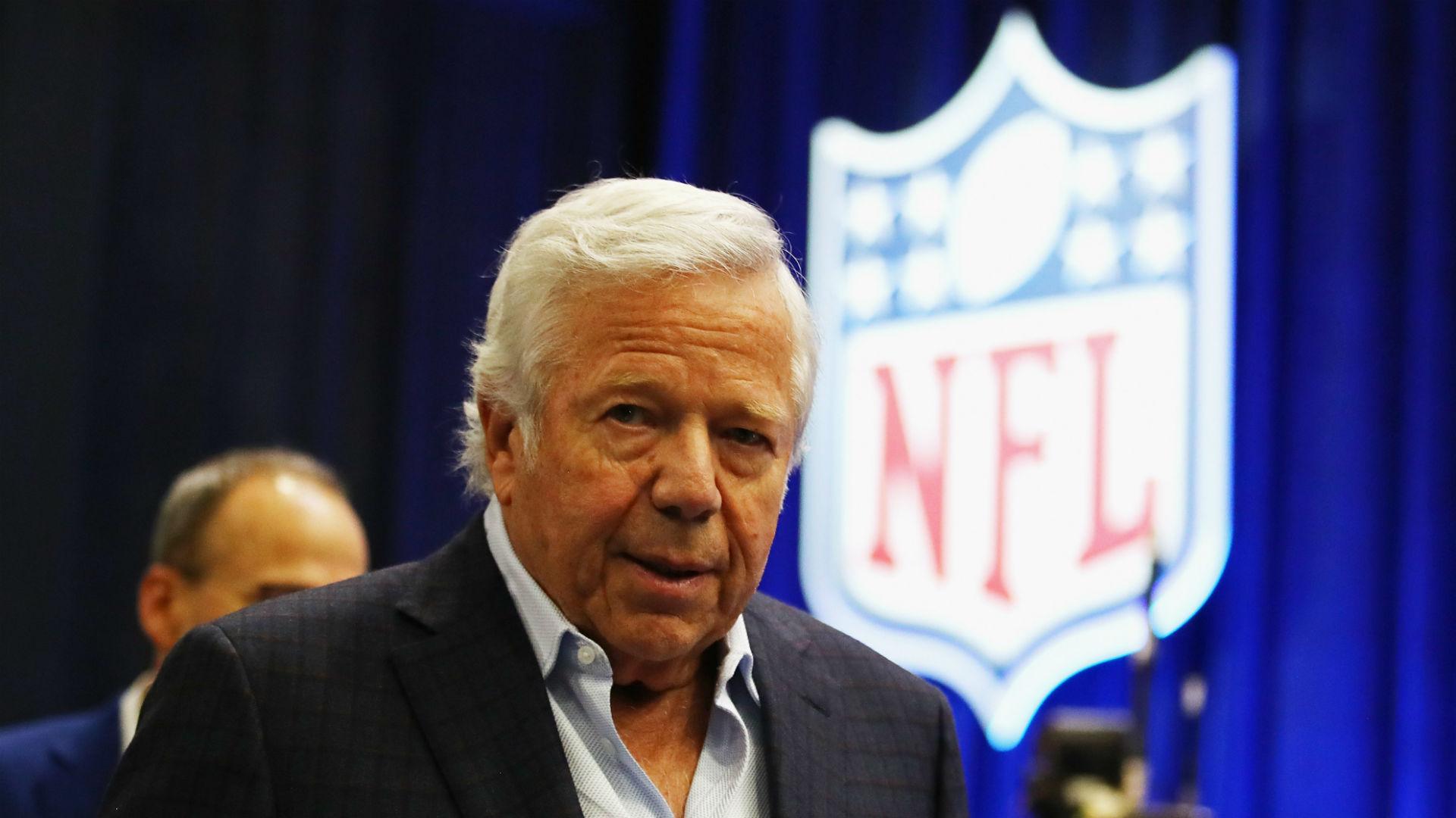 Patriots owner Robert Kraft breaks silence: 'I am truly sorry'