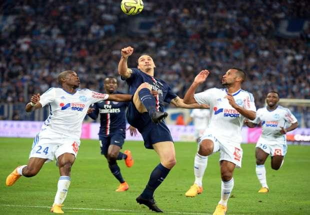 Hasil gambar untuk Olympique Marseille vs PSG