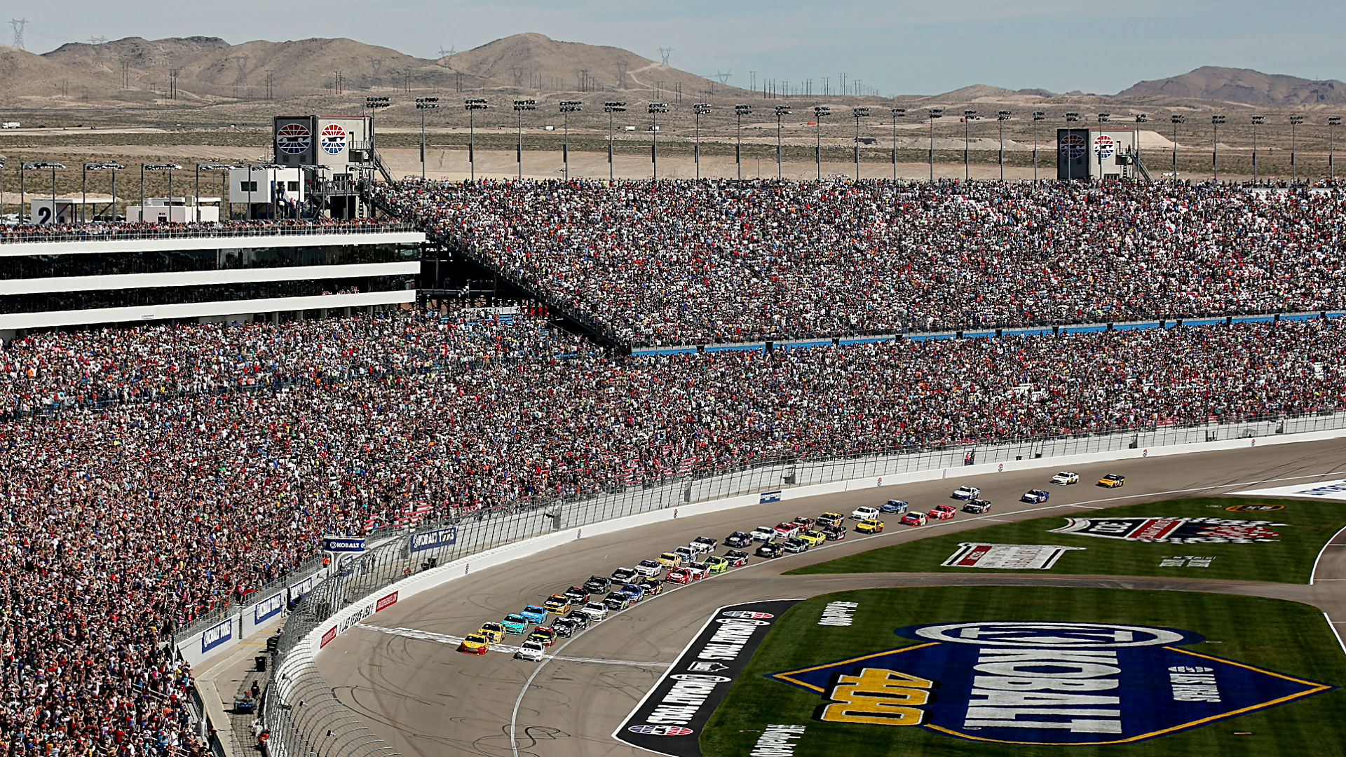Las Vegas Motor Speedway To Host Second Cup Race In 2018 Nascar Sporting News