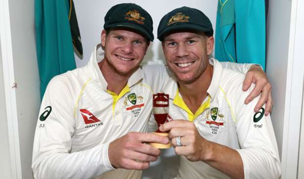 Steve Smith David Warner - cropped