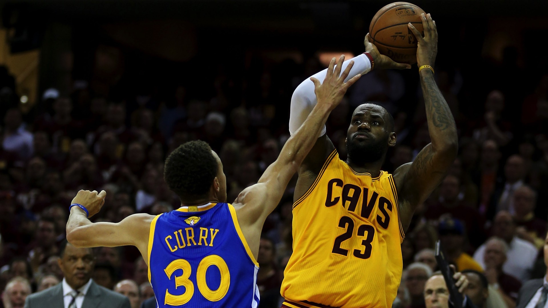 Stephen Curry: We're not down because of LeBron James   NBA   Sporting News