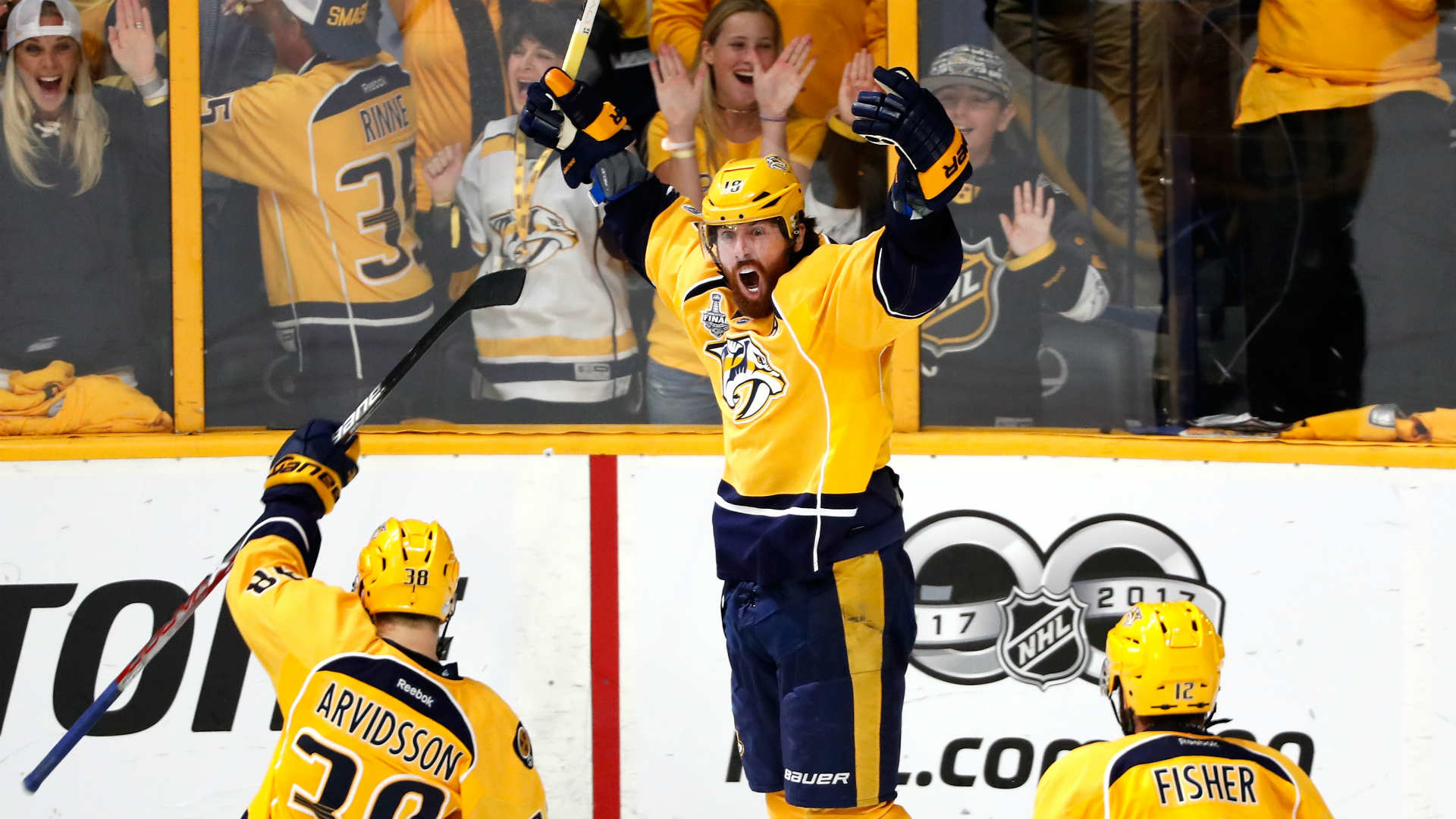 Predators fans bring 'It's all your fault' chant to Stanley Cup Finals