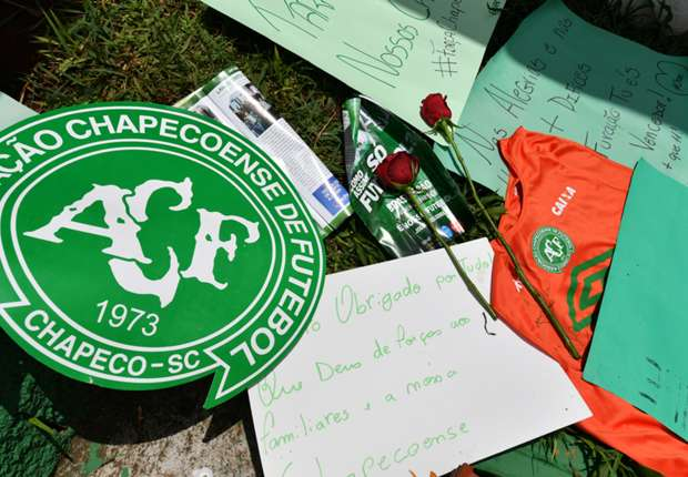 Chapecoense will rebuild with the world's support, says vice-president