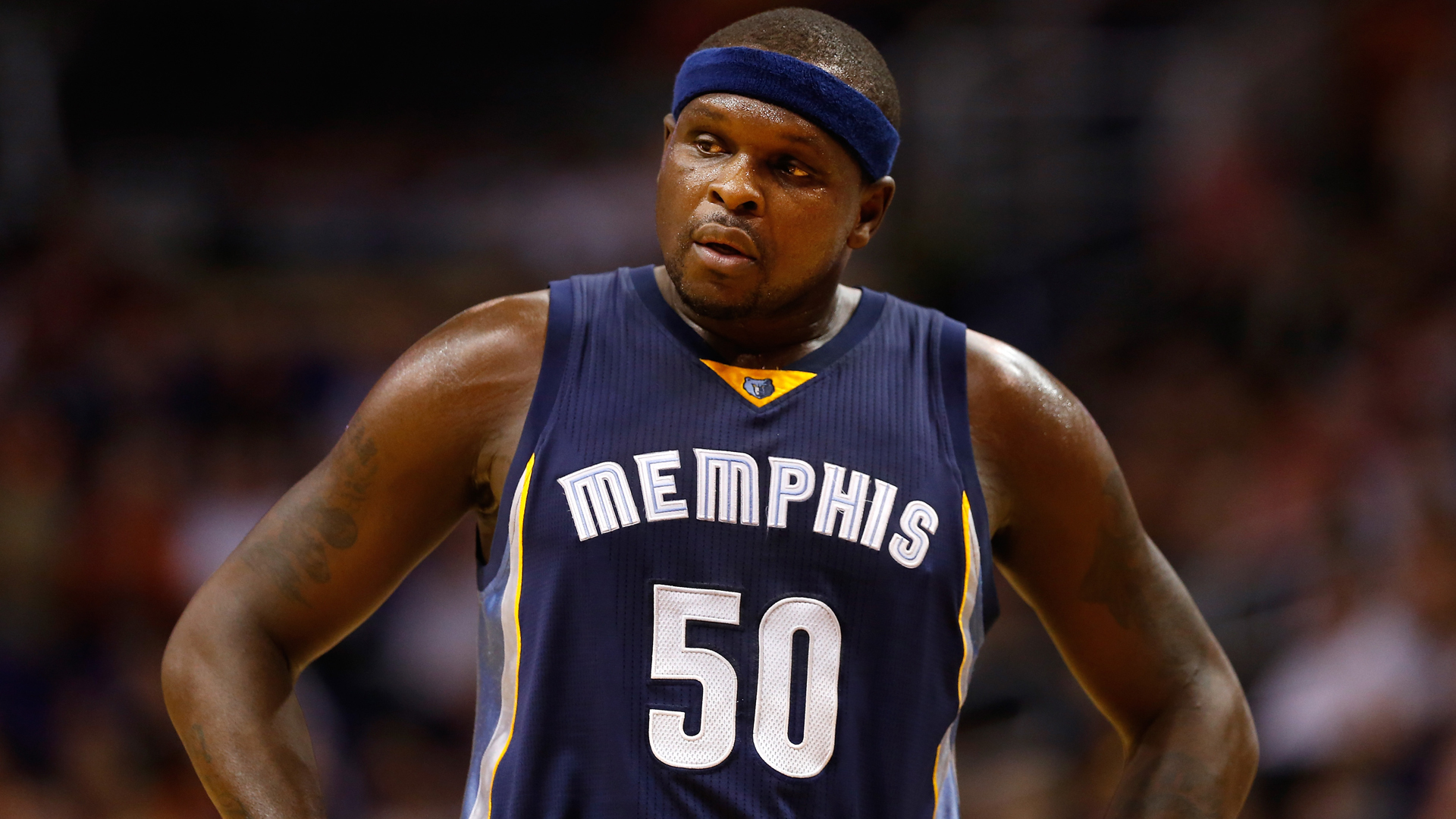 Zach randolph memphis grizzlies - Zach Randolph Granted Leave Of Absence Following Death Of Mother Nba Sporting News