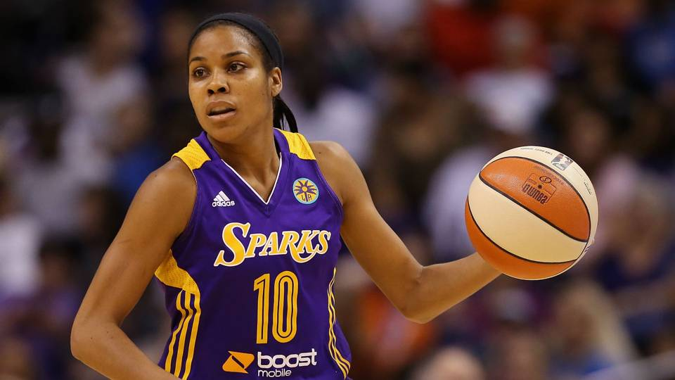 Sixers hire former WNBA star Lindsey Harding as scout