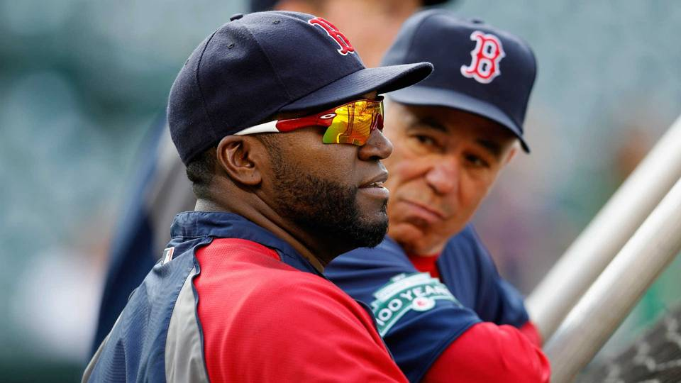 David Ortiz and Bobby Valentine