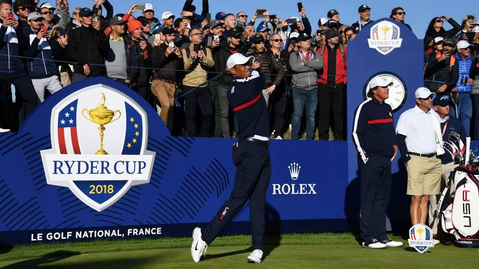 USA Ryder Cup diary: Tiger's roaring reception, John McEnroe's bold prediction