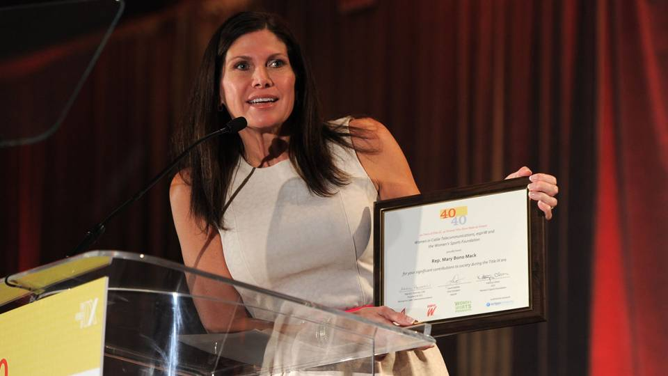 USA Gymnastics interim CEO Mary Bono resigns four days after taking job