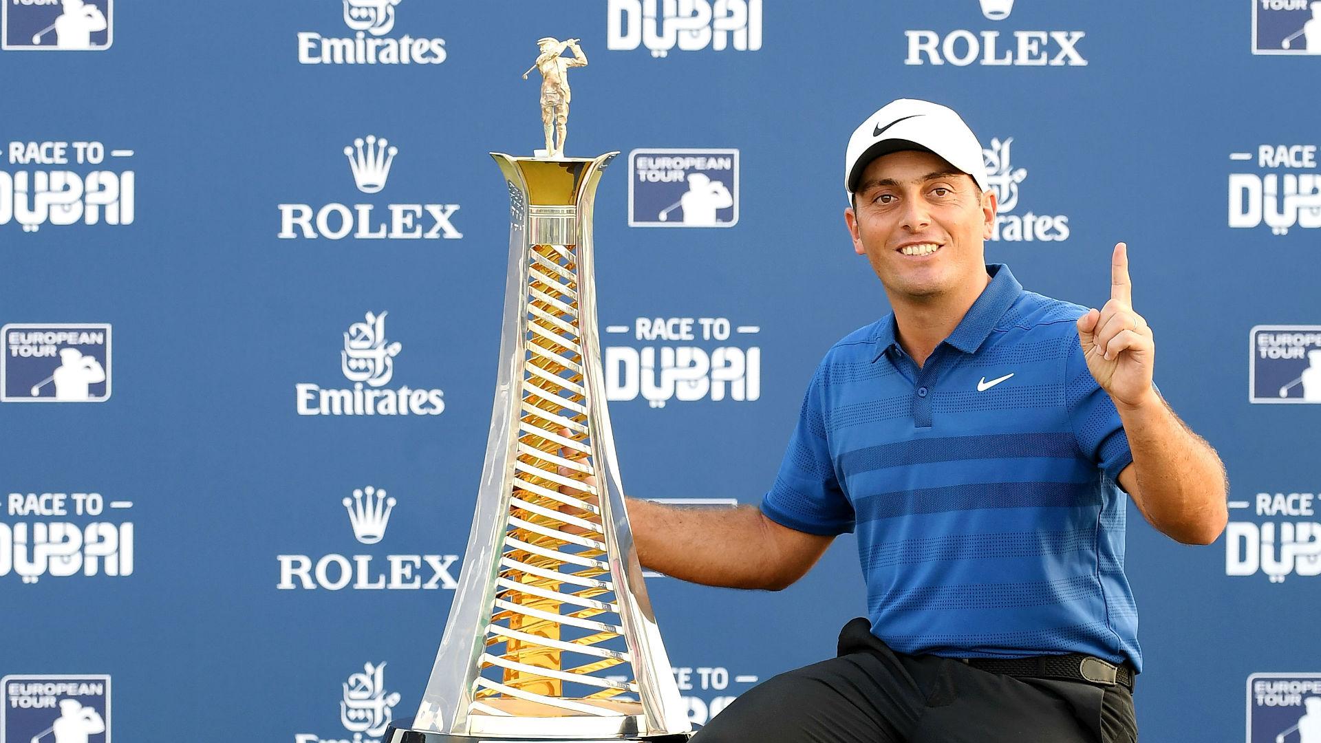 Francesco Molinari named European Golfer of the Year