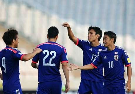 REPORT: Afghanistan 0-6 Japan