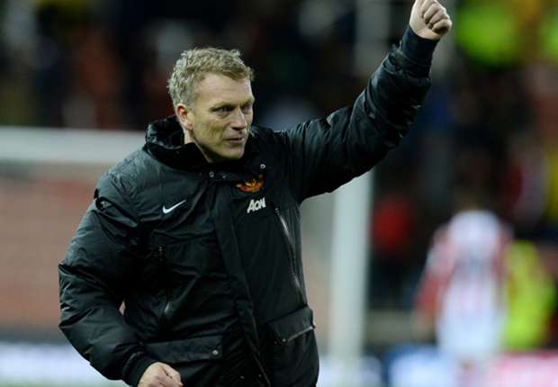 Moyes pleased to see Manchester United weather Stoke storm