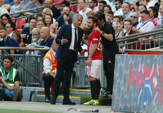 Mourinho explains decision to sub 'angry' Mata