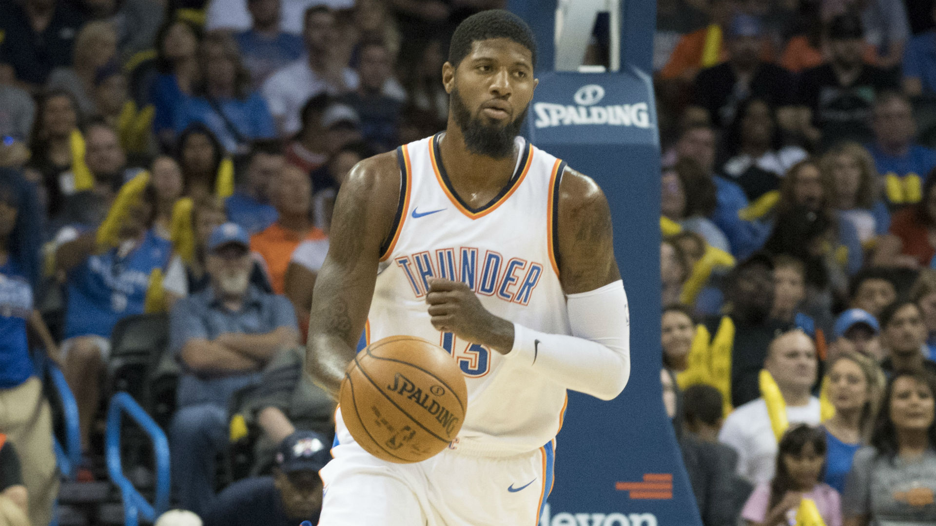 Paul George sidelined up to 8 weeks following knee procedure