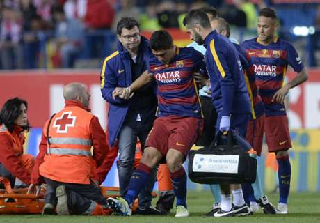 Suarez to miss Copa group stage