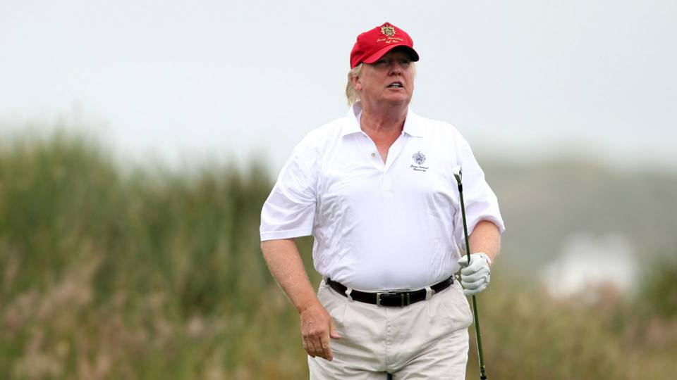 Donald Trump, Tiger Woods get in round of holiday golf | Other ...