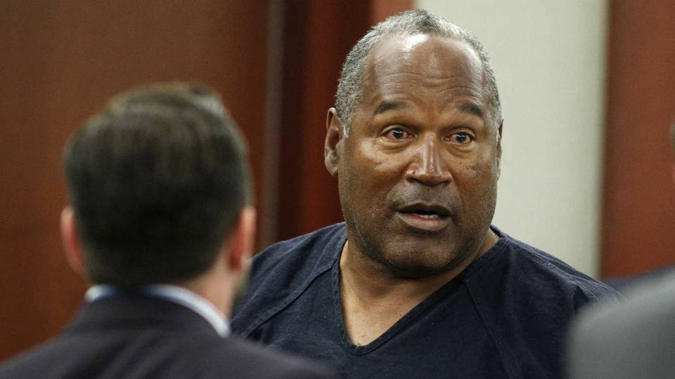 O.J. Simpson in a Las Vegas courtroom in 2013