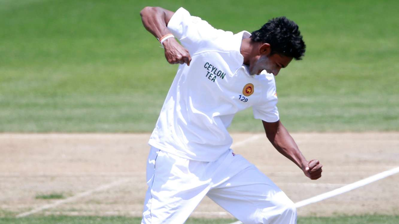 Sri Lanka call up pacemen Gamage and Chameera