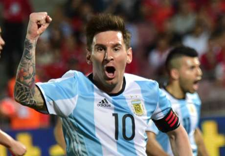 Argentina go top of world rankings