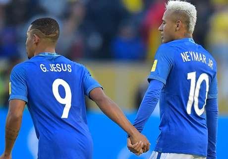 Tite hails Neymar and Gabriel Jesus