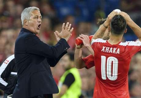 Petkovic annoyed by Xhaka dismissal