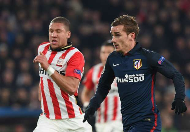 Griezmann annoyed with PSV draw