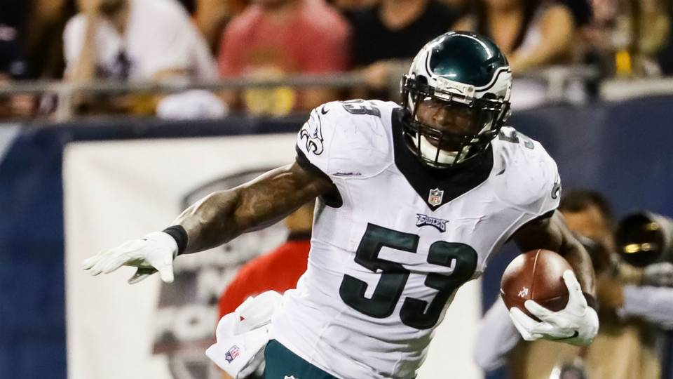 Eagles' LB Nigel Bradham suspended for season opener by NFL