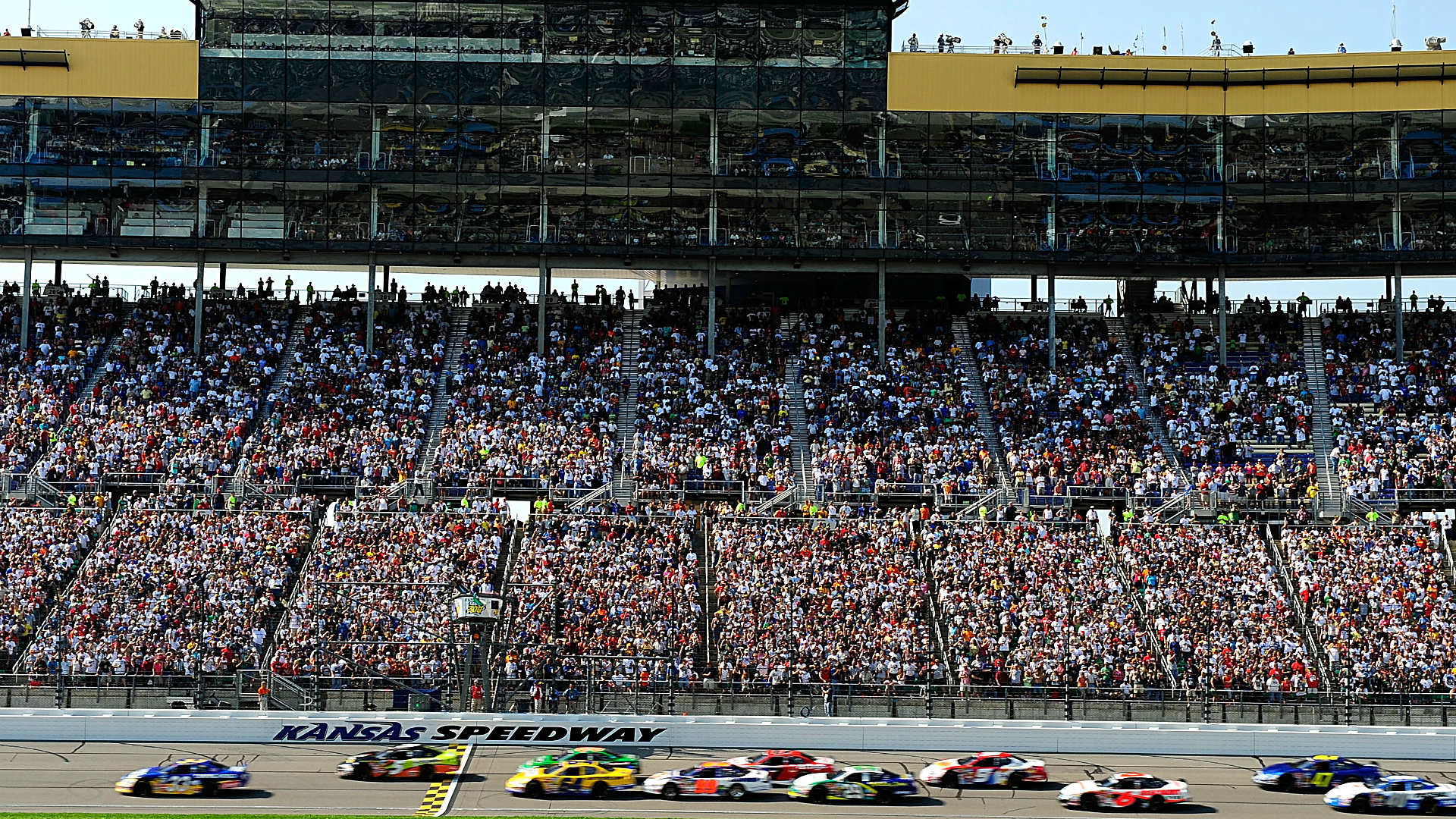 NASCAR at Kansas: Schedule, time, TV info, entry list