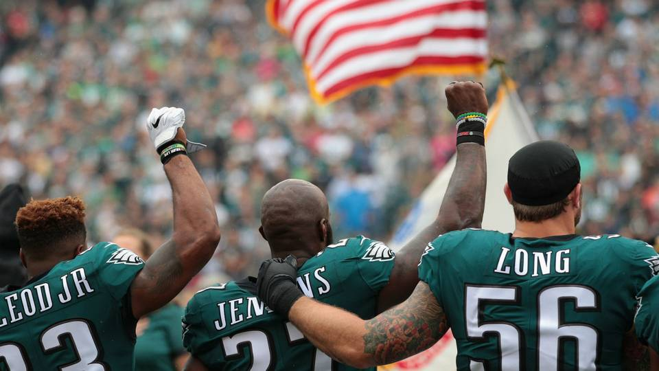 Image result for Chris Long and Malcolm Jenkins