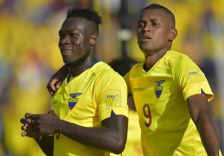 Ecuador 2-1 Uruguay: Martinez winner