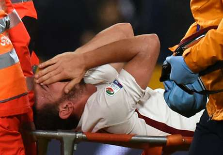 Roma's Florenzi suffers awful injury