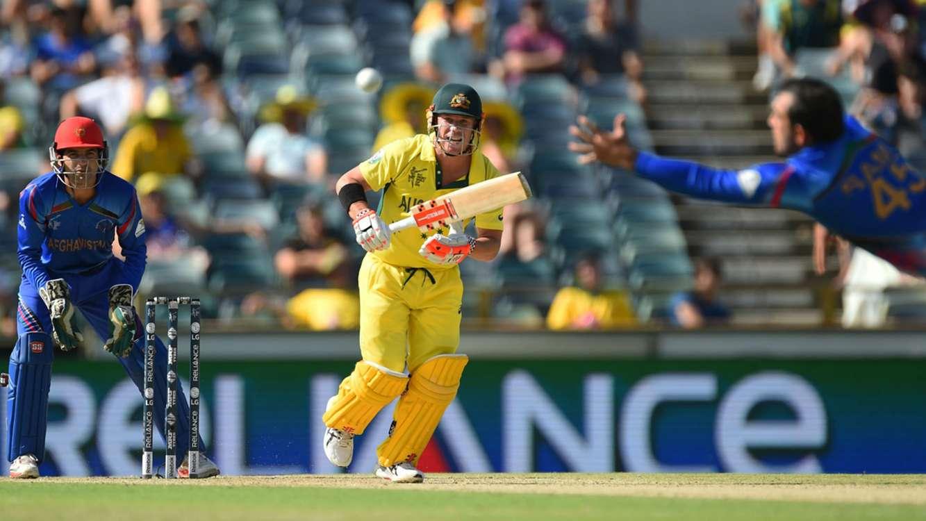 Australia post record score in Afghanistan clash