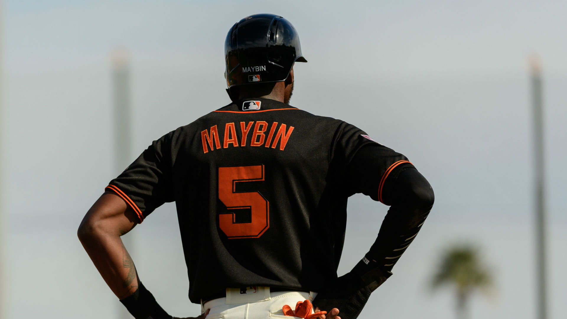 Giants outfielder Cameron Maybin arrested on DUI charge during spring training