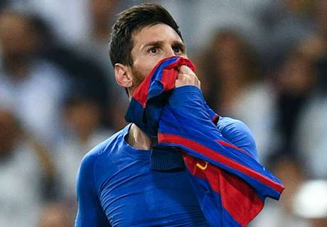 Enrique wants Messi to finish at Barca